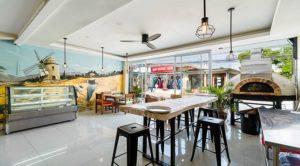 Boulangerie restaurant pizzeria à vendre à Koh Samui (avec four au bois)