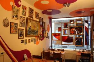 Restaurant original au centre de Liège