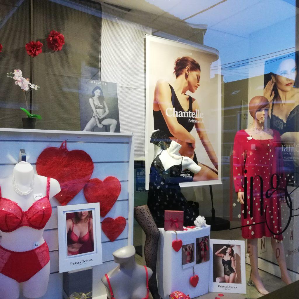 Belle boutique de lingerie à remettre, région La Louvière