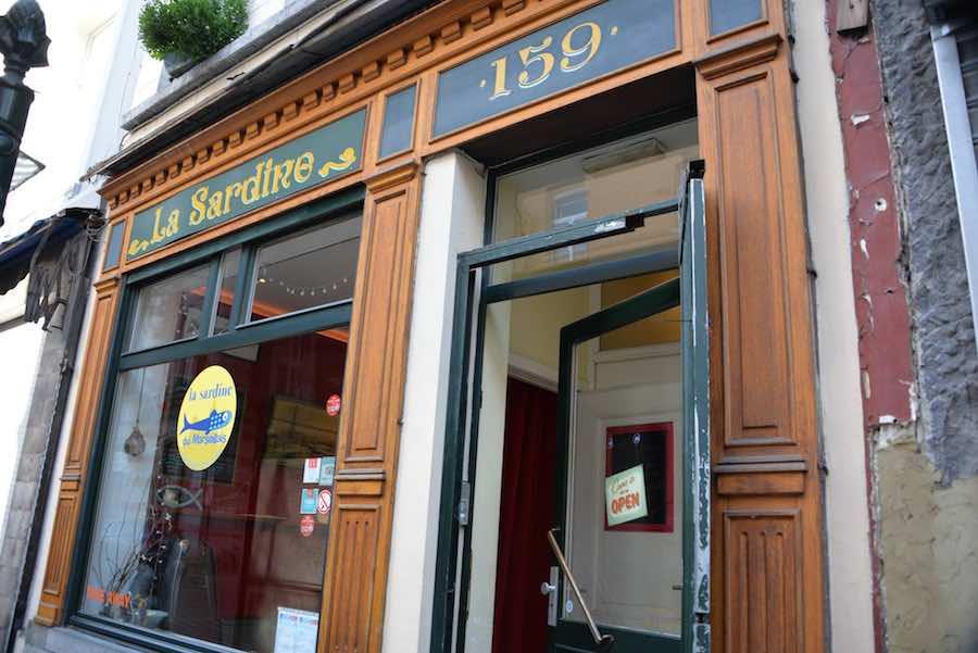Une des meilleurs sandwicherie de Bruxelles