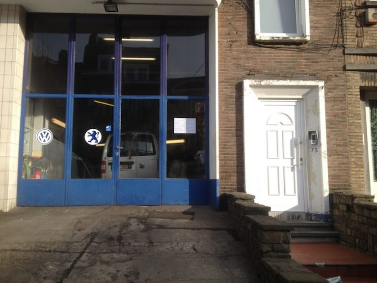 garage à remettre à Anderlecht