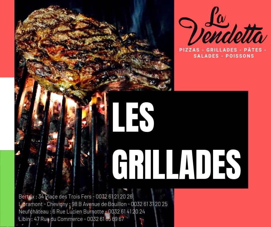 La référence en province de Luxembourg restaurant La vendetta groupe
