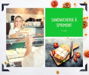 sandwicherie à remettre à Sprimont