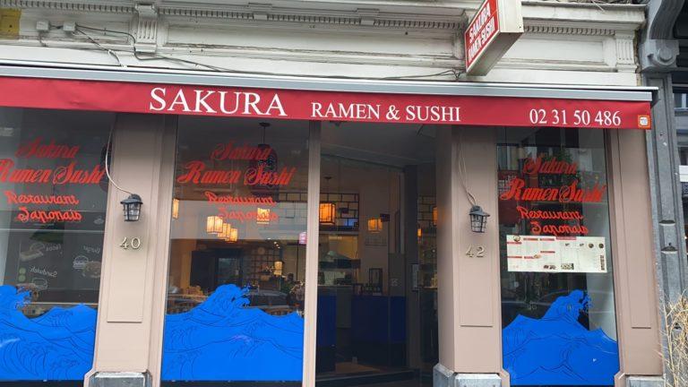 restaurant japonais à remettre Bruxelles