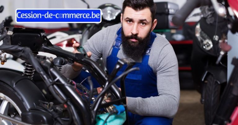 magasin moto scooter à remettre