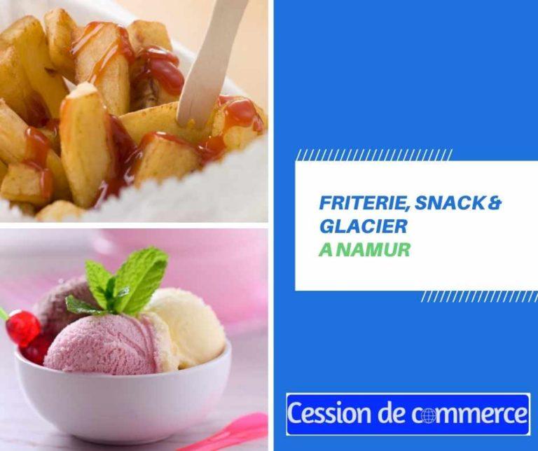 Friterie, snack & glacier à remettre à Namur