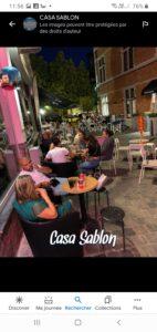Bar à cocktails à remettre au Sablon