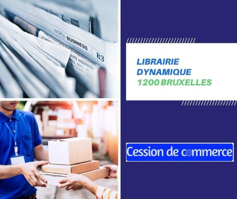 librairie à remettre 1200 Bruxelles