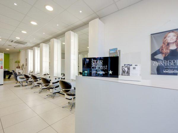 salon de coiffure à remettre à Tournai