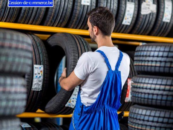 garage de pneu