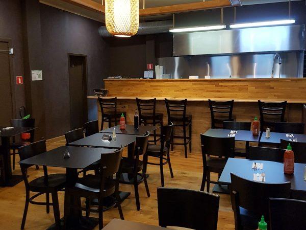 restaurant thaï à remettre Bruxelles