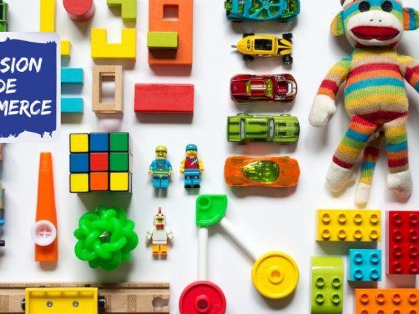 magasin de jouets à vendre