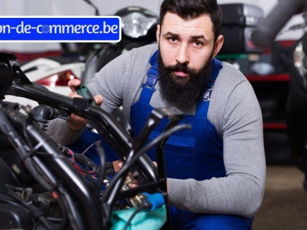 magasin moto scooter à remettre