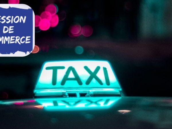 société de taxi à remettre